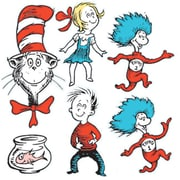 EUREKA LARGE DR SEUSS CHARACTERS 2-SIDED DECO KIT (LEARN0295)