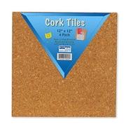 FLIPSIDE CORK TILES 12IN X 12IN SET OF 4 (EDRE44756)
