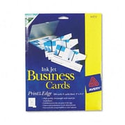Avery Inkjet Glossy Business Cards 2 x 3-1/2 White 8 per Sheet 200 Cards per Box (AZRAVE8373)