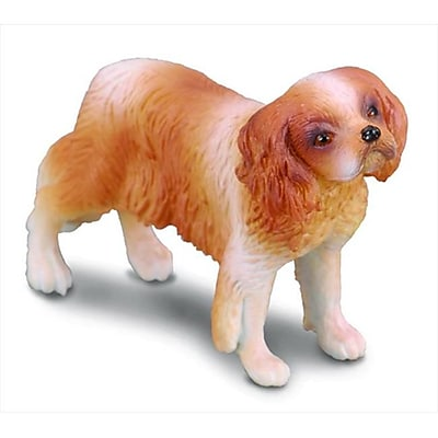 CollectA Cavalier King Charles Spaniel Replica Dog Figurine Toy Gift - Pack of 6 (IQON071) 2513516