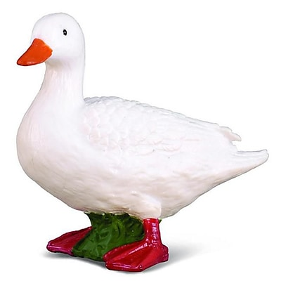 CollectA White Duck - Farm Animal Model Bird Figurine Replica Toy - Pack of 6 (IQON006) 2516293