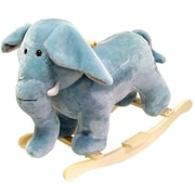 Happy Trails Elephant Plush Rocking Animal (TC80-76ELEPHANT)