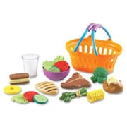 Learning Resources New Sprouts Play Dinner Basket, 19 Per Set (SPRCH47007)
