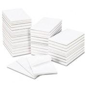 Universal Bulk Scratch Pads Unruled 5 x 8 White 100-Sheet Pads 64 Pads per Carton (AZRUNV35625)