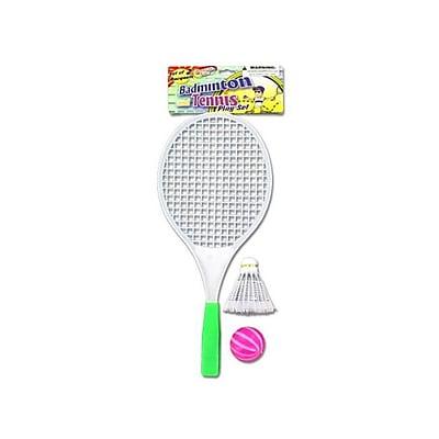 Bulk Buys Badminton Play Set with 1 Racket 1 Ball and 1 Birdie - Pack of 48 (KOLIM21055) 2491120