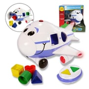 Learning Journey Jumbo the Jet Shape Sorter Remote Control Airplane (LJI010)