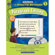 Teacher Created Resources Interactive Learning: Paragraph Editing Grade 3 (TCCR1008)