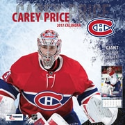 Turner Licensing Montreal Canadiens Carey Price 2017 12X12 Player Wall Calendar (17998011998)