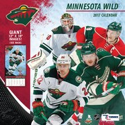 Turner Licensing Minnesota Wild 2017 12X12 Team Wall Calendar (17998011944)