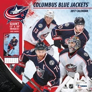 Turner Licensing Columbus Blue Jackets 2017 12X12 Team Wall Calendar (17998011938)