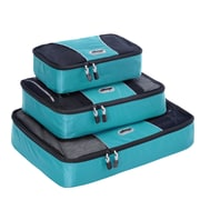 eBags Packing Cubes - 3pc Set Aquamarine Nylon (13032)