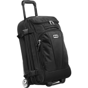 "eBags TLS Mother Lode Mini 21"" Wheeled Duffel Solid Black Polyester (125538)"