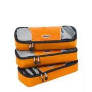 eBags Slim Packing Cubes - 3pc Set Tangerine Nylon (107842)