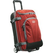 """eBags TLS Mother Lode Mini 21"""" Wheeled Duffel Sinful Red Polyester (125538)"""