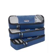 eBags Slim Packing Cubes - 3pc Set Denim Nylon (107842)