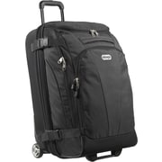 "eBags TLS Mother Lode Junior 25"" Wheeled Duffel Solid Black Polyester (125548)"