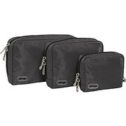 eBags Padded Pouches - 3 pc Set Titanium Nylon (105241)