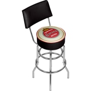 Corona Swivel Bar Stool with Back - Vintage (190836246458)