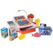 Hey! Play! Pretend Electronic Cash Register w/ Real Sounds & Functions (886511990241)