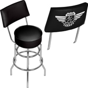 Dodge Garage Swivel Bar Stool with Back (886511980518)