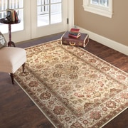 "Lavish Home Vintage Flowered Rug - Ivory - 3'3"" x 5' (886511972858)"