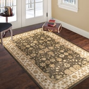 "Lavish Home Vintage Mixed Floral - Brown Beige - 3'3"" x 5' (886511972834)"