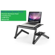 Uncaged Ergonomics WorkEZ Cool Laptop Riser Black (WECb)