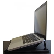 Uncaged Ergonomics Swivel Laptop Stand Black (SLS)