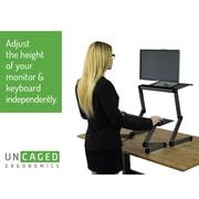 Uncaged Ergonomics WorkEZ Standing Desk Black (WESDb)