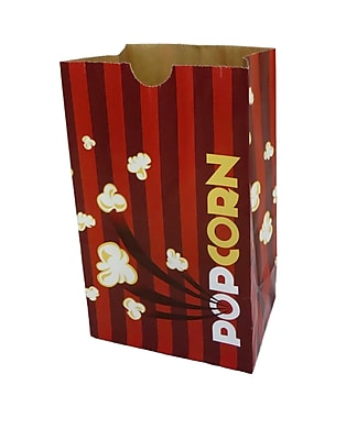 Gold Medal 2232E 130 oz. Eco-Friendly Laminated Popcorn Bag, 500/carton 20005024