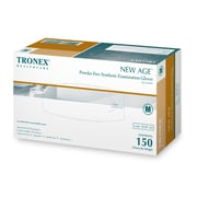 "Tronex Synthetic ""New Age®"" Gloves, Latex Free, Natural, Examination Gloves, Medium (8787-20)"