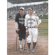 Diamond Decor Babe Ruth and Lou Gehrig Artwork  24 x 32Canvas in. (DV2013CL)