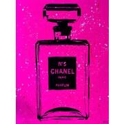 Diamond Decor Wall Art Chanel Pop Art Pink Chic 12 x 16 in. (PAQ014CS)