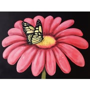 Diamond Decor Wall Art Butterfly's Snack 24 x 32 in. (EDC078CL)