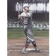 Diamond Decor Babe Ruth as a Red Sox Artwork Canvas 18 x 24 in. (DV2009CM)