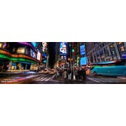 Diamond Decor Wall Art Time Square New York City 12 x 36 in. (12026CL)