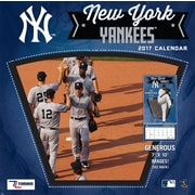 Turner Licensing New York Yankees 2017 Mini Wall Calendar (17998040541)