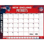 Turner Licensing New England Patriots 2017 22X17 Desk Calendar (17998061543)