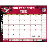 Turner Licensing San Francisco 49Ers 2017 22X17 Desk Calendar (17998061551)