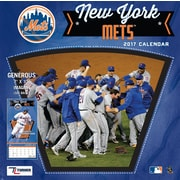 Turner Licensing New York Mets 2017 Mini Wall Calendar (17998040540)