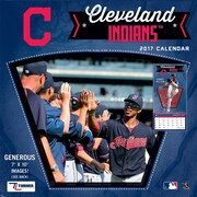 Turner Licensing Cleveland Indians 2017 Mini Wall Calendar (17998040535)