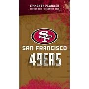 Turner Licensing San Francisco 49ers 2016-17 17-Month Planner (17998890558)