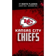 Turner Licensing Kansas City Chiefs 2016-17 17-Month Planner (17998890547)