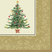 """Amscan Classic Victorian Tree Lunch Napkin, 6.5"""" x 6.5"""", 5/Pack, 16 Per Pack (519901)"""