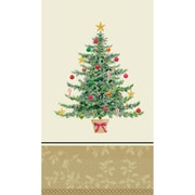 """Amscan Classic Victorian Tree Guest Towel 7.75"""" x 4.5"""", 5/Pack, 16 Per Pack (539901)"""