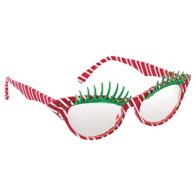"""""Amscan Fashion Candy Cane Glasses, 2"""""""" x 6"""""""", 2/Pack (397685)"""""" 2537225"