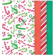"Amscan Christmas Printed Tissue Paper,  20"" x 20"", 4/Pack, 30 Per Pack (180567)"