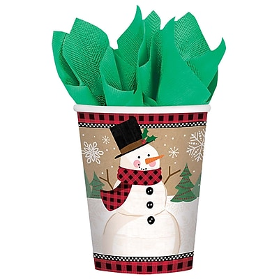 Amscan Winter Wonderland Paper Cup, 9oz, 5/Pack, 8 Per Pack (581679) 2536858