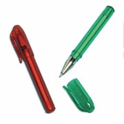 Amscan Christmas Mini Pens, Red/Green, 6/Pack, 12 Per Pack (390718)