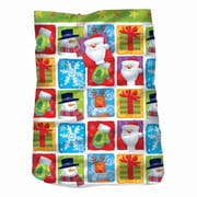 "Amscan Holiday Friends Giant Gift Sack, Plastic, 44"" x 36"", 3/Pack (470006)"